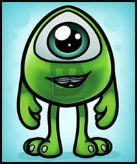 How To Draw Disney S And Pixar S Monsters Inc And Monsters University Characters Cartoon Characters Drawing Tutorials Drawing How To Draw Disney S And Pixar S Monsters Inc And Monsters University Characters