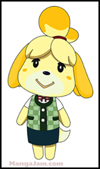 How To Draw Animal Crossing Video Game Characters Drawing