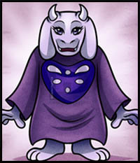How to Draw Undertale Video Game Characters : Drawing