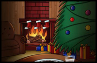 How to Draw Christmas Trees Decorated and Gifts Underneath with ...