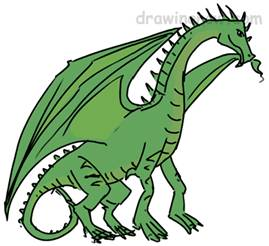 How To Draw Dragons Drawing Tutorials Drawing How To Draw