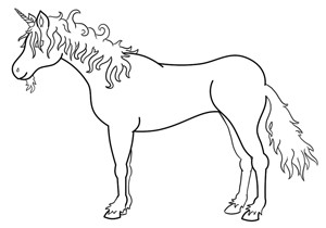 how to draw mythical creatures easy step by step