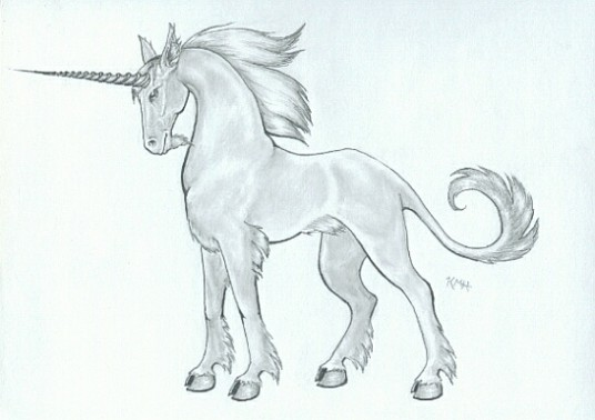 This Is The Unicorn We Will Be Drawing I Will Take You Through The Steps