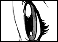 Draw Anime & Manga Eyes : How to Draw Manga Eyes : Draw ...