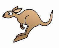 How To Draw Leaping Cartoon Kangaroos