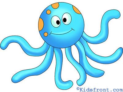 How to draw Cartoon octopus Octopus Cartoon Images