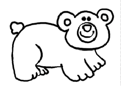how to draw cartoon bears easy drawing lessons for kids - Easy Drawing Pictures For Kids