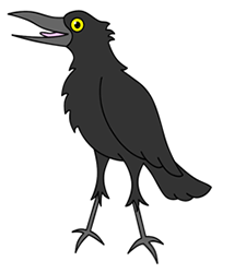 how to draw cartoon crows drawing tutorials