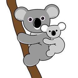 how to draw koala bears drawing tutorials drawing how to draw koala bears and koalass. Black Bedroom Furniture Sets. Home Design Ideas