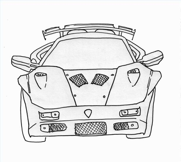 Amazing Fast Car Drawings Ornament - Electrical Chart Ideas ...