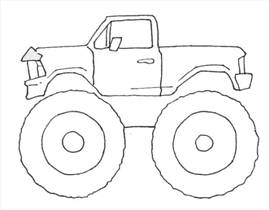how to draw trucks and vehicles drawing tutorials drawing how 1950 Chevy Truck Lifted how to draw cartoon monster trucks