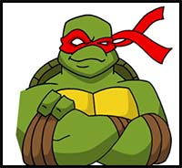 How To Draw Teenage Mutant Ninja Turtles Cartoon Characters Drawing Tutorials Drawing How To Draw Teenage Mutant Ninja Turtles Comics Illustrations Drawing Lessons Step By Step Techniques For Cartoons