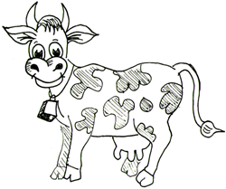 How to Draw Cows Drawing Tutorials