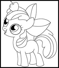 How To Draw My Little Pony Cartoon Characters Drawing Tutorials Drawing How To Draw My Little Pony Comics Illustrations Drawing Lessons Step By Step Techniques For Cartoons Illustrations