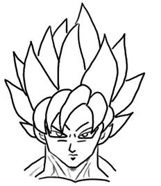 Anime Drawing Goku Anime Collection