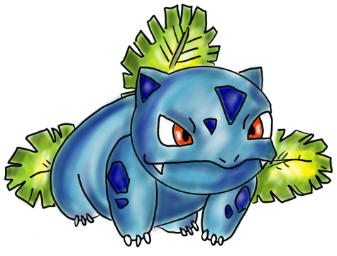 Do You Want To Learn How Draw Ivysaur One Of The Most Popular All Pokemon Characters Amongst Boys And Girls I Have Put Together A Step By
