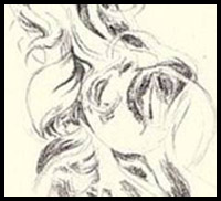 How to Draw Curly Hair and the Human Face: Drawing Tutorials & Drawing ...
