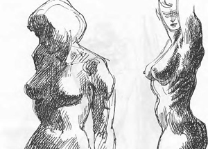 Figure Drawing : How to Draw Human Body, Torso with Lesson