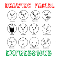 40 Handy Expression Drawing Charts For Practice
