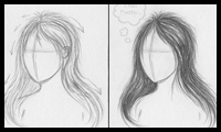 Draw Tutorials Beginners Tutorial How to Draw Hair