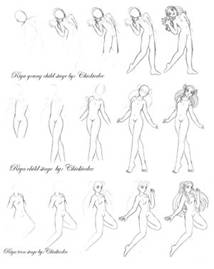 Figure Drawing Step by Step Lessons & How to Draw People ...