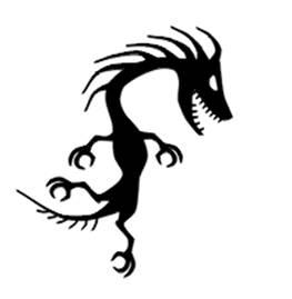 how to draw dragon tattoo