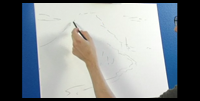 how to draw on canvas before painting it