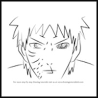 Draw Naruto : How to Draw Naruto Characters : Naruto Drawing