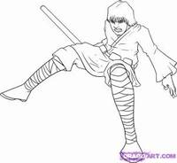 Star Wars Kleurplaten Luke Skywalker.How To Draw Star Wars Characters From The Animated Clone Wars With