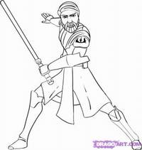 Kleurplaten Star Wars Clone Wars.How To Draw Star Wars Characters From The Animated Clone Wars With
