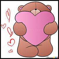 Draw Cute Teddy Bear