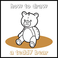 How to Draw a Teddy Bear for Kids