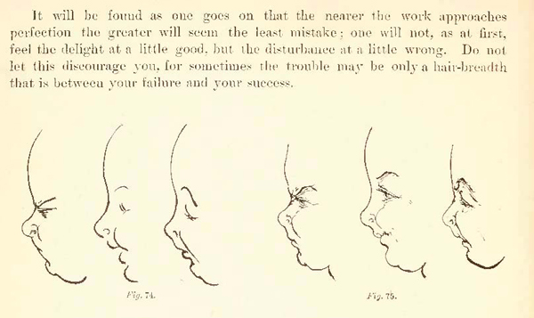 How to Draw Kids and Children from The Back with Facial ...