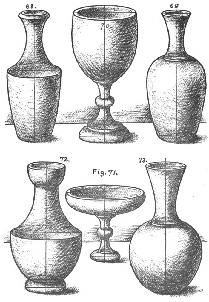 Scribble Drawing Of Objects : How to draw cones vases and vessels with the following