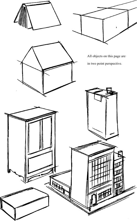With the knowledge of a few simple squares such as a radio, a match box, and a package of cigarettes put together can become a group of buildings.