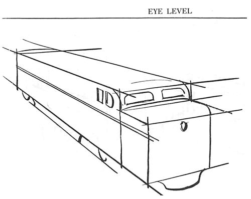 How to Draw Trains in Perspective
