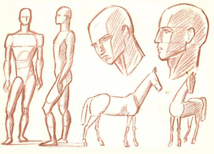 Learn How To Draw Objects And Figures That You See By Drawing The