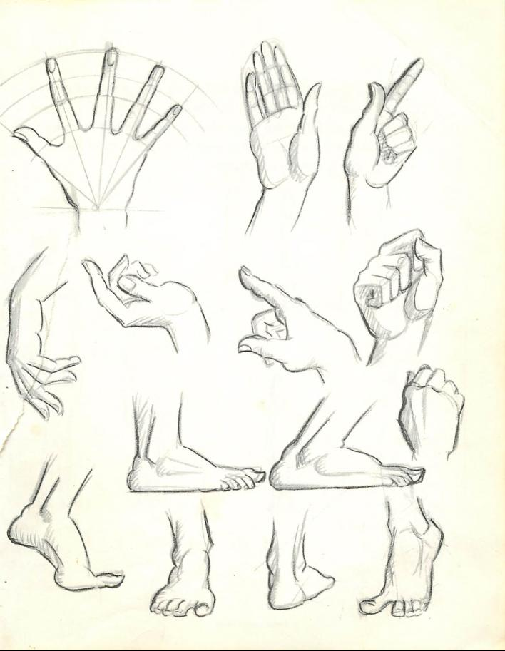 How to Draw the Human Figure : Drawing Body, Head, Facial Features ...