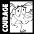 How to Draw Cartoon Characters - Courage the Cowardly Dog