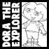How to Draw Cartoon Characters - Dora the Explorer