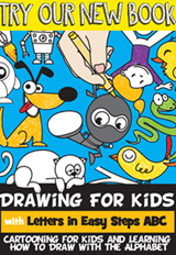 Learn How to Draw with Letters for Kids and Preschoolers