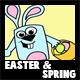 how to draw Easter and String Tutorials