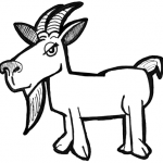 How to Draw Cartoon Billy Goats with Simple Drawing Tutorial