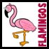 Drawing Flamingos