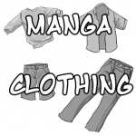 How to Draw Manga / Anime Clothing with Drawing Lesson