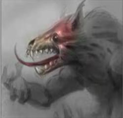 How to draw werewolf creature design monster