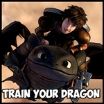 Drawing How to Train Your Dragon Characters