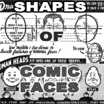 Proportions and Shapes of Comic Human Faces / Heads – Cartooning Lesson