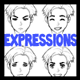 Drawing Facial Expressions in Manga and Anime Styled Illustration