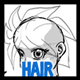 Drawing Hair for Manga & Anime Characters